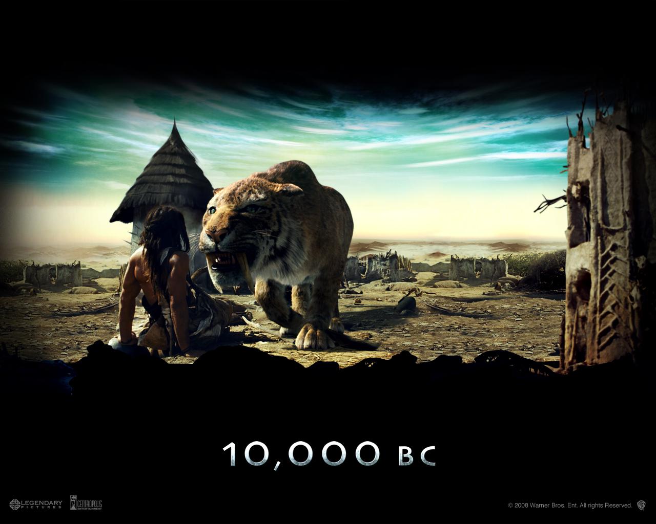 M.Ö. 10.000 Filmi Afişleri