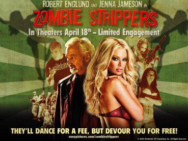 Zombie Strippers Afişleri